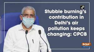 Stubble burning's contribution in Delhi's air pollution keeps changing: CPCB