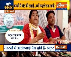 Terrorists are raised in madrasas, says MP Minister Usha Thakur