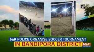 J-K Police organise soccer tournament in Bandipora district