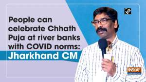 People can celebrate Chhath Puja at river banks with COVID norms: Jharkhand CM