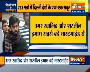 Delhi riots: Sharjeel Imam, Umar Khalid named in supplementary charge sheet
