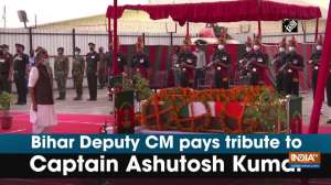 Bihar Deputy CM pays tribute to Captain Ashutosh Kumar