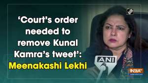 'Court's order needed to remove Kunal Kamra's tweet': Meenakashi Lekhi