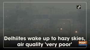 Delhiites wake up to hazy skies, air quality 'very poor'