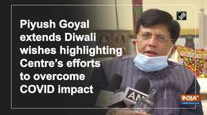 Piyush Goyal extends Diwali wishes highlighting Centre's efforts to overcome COVID impact