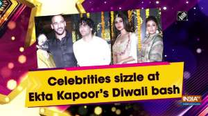 Celebrities sizzle at Ekta Kapoor's Diwali bash