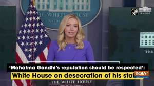 'Mahatma Gandhi should be respected': White House on desecration of statue