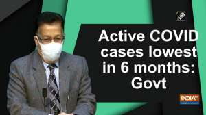 Active COVID cases lowest in 6 months: Govt
