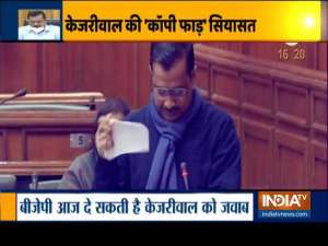 More drama expected in Delhi Assembly today as AAP MLAs tear copies of farm laws