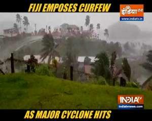Fiji imposes curfew, braces for major cyclone