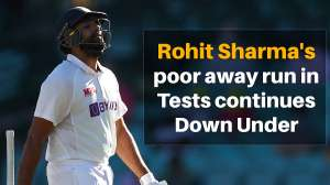 Rohit Sharma's away figures in Tests remain a concern for Team India