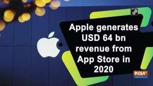 Apple generates USD 64 bn revenue from App Store in 2020