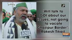 'Will talk to GOI about our issues, not going to vacate Ghazipur Border': Rakesh Tikait