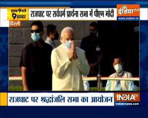 Top 9 News: PM Modi pays tribute to Mahatma Gandhi on his 73rd death anniversary