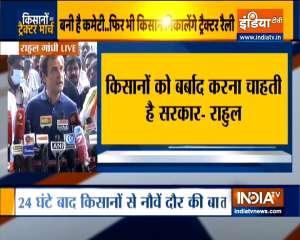 Whenever Indian farmers are weak, India is weak: Rahul Gandhi