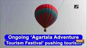 Ongoing 'Agartala Adventure Tourism Festival' pushing tourism