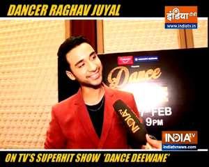 Raghav Juyal talks about hosting Dance Deewane 3