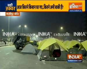 Have farmers vacated Ghazipur border? Watch ground report