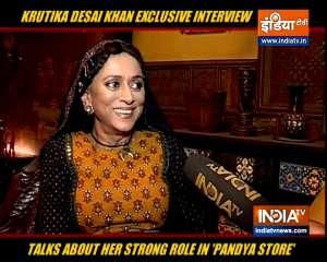 TV Actress Krutika Desai Khan talks about her strong character in 'Pandya Store'