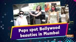 Paps spot Bollywood beauties in Mumbai