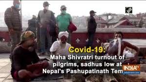 Covid-19: Maha Shivratri turnout of pilgrims, sadhus low at Nepal's Pashupatinath Temple