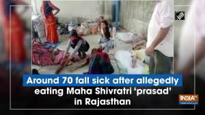 Around 70 fall sick after allegedly eating Maha Shivratri 'prasad' in Rajasthan