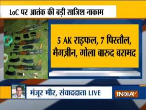Jammu & Kashmir: Large cache of arms and ammunition seized near LoC in Karnah