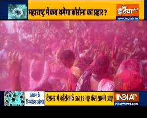People break Covid-19 protocols on Holi, India reports over 56K new cases in last 24 hours