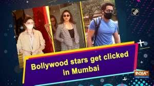 Bollywood stars get clicked in Mumbai