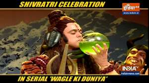 Watch Mahashivratri celebration in serial Wagle Ki Duniya