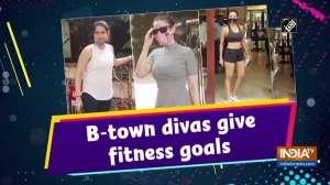 B-town divas give fitness goals