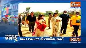 Karisma Kapoor's airport look to Ram Setu muhurat puja, Bollywood Bhai shares latest scoop