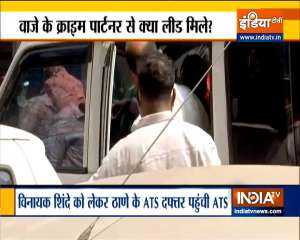ATS team arrives in Ahmedabad to collect information regarding the use of sim cards in  Mansukh Hiren case