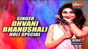 Singer Dhvani Bhanushali talks to India TV about her music video 'Radha'