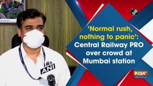 'Normal rush, nothing to panic': Central Railway PRO over crowd at Mumbai station