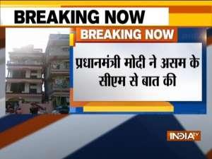 PM Modi assures all possible help to quake-hit Assam