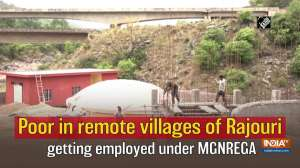 Poor in remote villages of Rajouri getting employed under MGNREGA