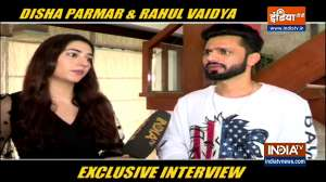 Rahul Vaidya, Disha Parmar's EXCLUSIVE interview with India TV