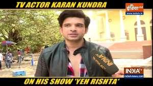 Happy to be back on small screen, says TV actor Karan Kundra