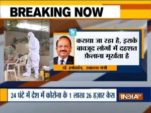 Dr Harsh Vardhan slams Maharashtra government over COVID vaccine scarcity claim