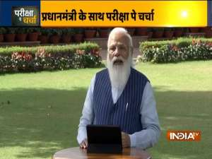 Pariksha Pe Charcha 2021   PM Modi answer students' questions on upcoming board exams