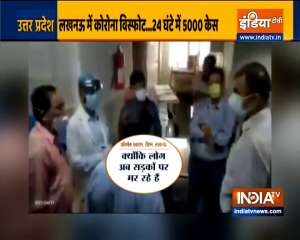 'People are now dying on roads', Lucknow DM video goes viral