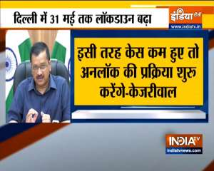 Delhi to be unlocked in a phased manner if COVID cases continue to go down, says CM Kejriwal