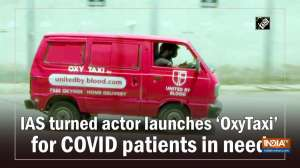 IAS turned actor launches 'OxyTaxi' for COVID patients in need