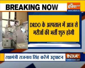 DRDO's 500-bed hospital to start from today in Lucknow