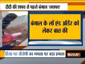 Bengal violence: PM Modi speaks to Governor Dhankar