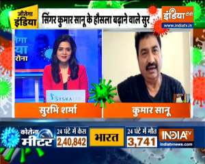 Jeetega India   Kumar Sanu raises the morale of people during tough times