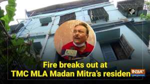Fire breaks out at TMC MLA Madan Mitra's residence