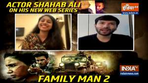 EXCLUSIVE   The Family Man 2's Shahab Ali aka Sajid shares BTS moments and much more