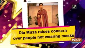 Dia Mirza raises concern over people not wearing masks
